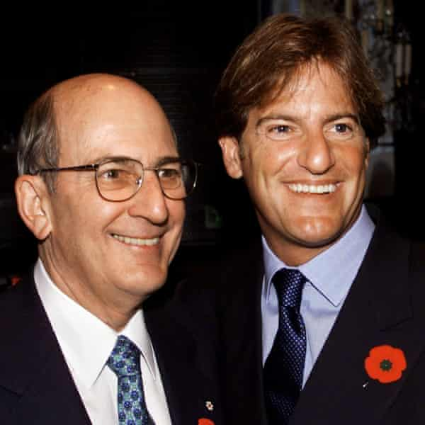 Charles and Stephen Bronfman in 1999.