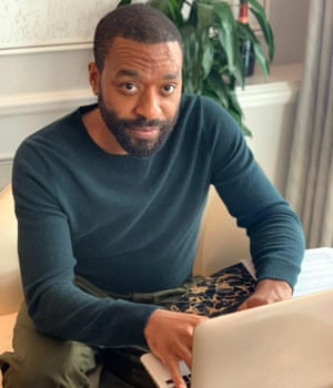 Chiwetel Ejiofor ready for a webchat