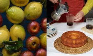 Lemon ring cake