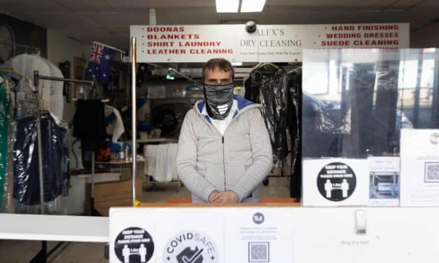 Alex from Alex's Dry Cleaning in Fairfield