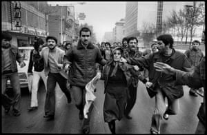 Tehran, Iran. After a demonstration at the Amjadiyeh Stadium
