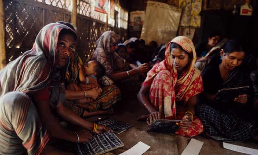 A women's education project in Demra, Dhaka, Bangladesh.