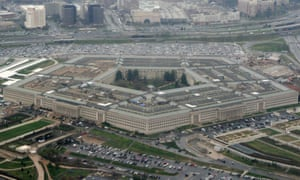 FILE - This March 27, 2008, file photo, shows the Pentagon in Washington. The Pentagon says it will send one Patriot missile battery and four radar systems to Saudi Arabia, in what officials describe as the first steps to help the kingdom protect itself against Iranian attacks. Two more Patriot batteries and a THAAD missile defense system will be prepared to go later if needed. The deployment will involve about 200 troops. (AP Photo/Charles Dharapak, File)