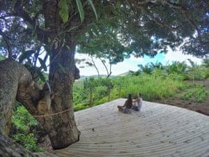 Otentic Mountain meditation deck.