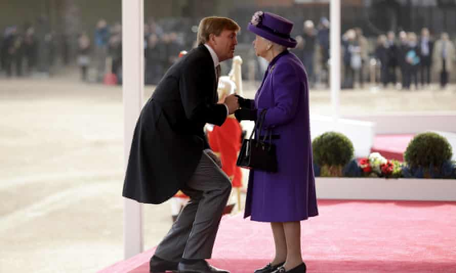 Queen and Dutch King