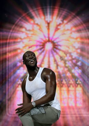 Stormzy performs at Capital's Jingle Bell Ball with Seat at London's O2 Arena earlier this month.