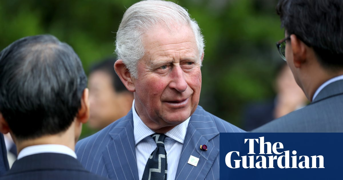 Prince Charles calls on City finance to fight climate emergency