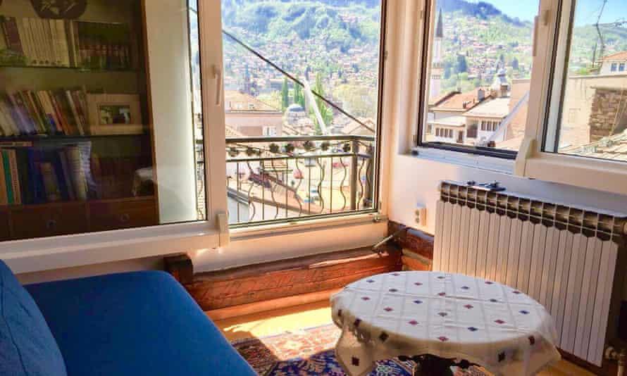 A room at Halvat Guesthouse, Sarajevo, Bosnia and Herzegovina