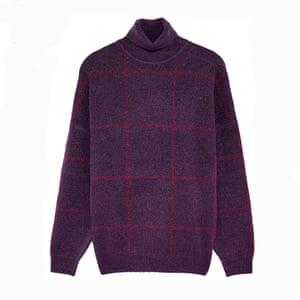 Purple check, £55.99, zara.com.