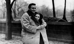 Christopher Plummer and Susan Strasberg in Stage Struck, 1958