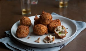 Sardine croquetas ... the perfect addition to any table of tapas.