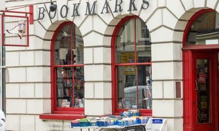 Bookmarks, Fitzrovia, London