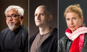 Amitav Ghosh, China Mieville and Lionel Shriver.