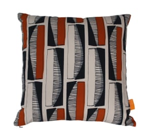 Paper Houses Design is a Scottish textiles brand using local craftspeople to make products from brutalist inspired designs. Form cushion, £55, Paper Houses Design