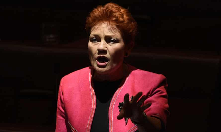 Parallels have been drawn between Pauline Hanson, a fringe ring-wing political figure in Australia, and Trump's election.