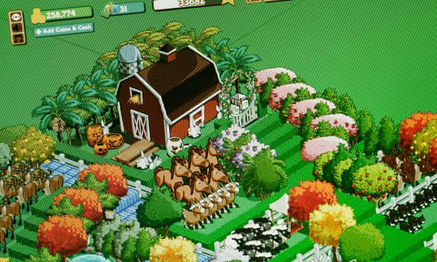 Mindless fun? Zynga's FarmVille.