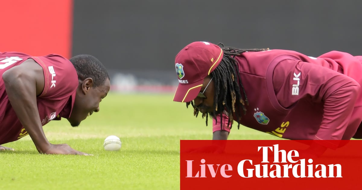West Indies beat Afghanistan by 23 runs: Cricket World Cup