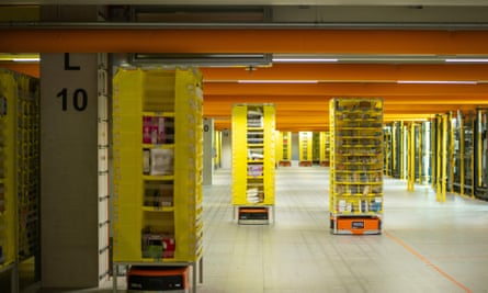 'A giant among minnows': an Amazon centre in Frankenthal, Germany