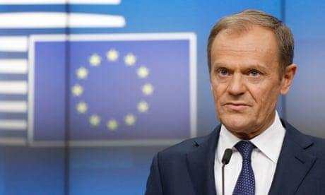 EU cannot betray 'increasing majority' who want UK to remain, says Tusk
