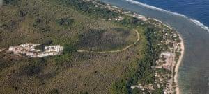 The Australian-run detention centre on the island of Nauru