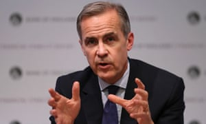 Governor of the Bank of England Mark Carney hosting the Financial Stability Report press conference at the Bank of England last night