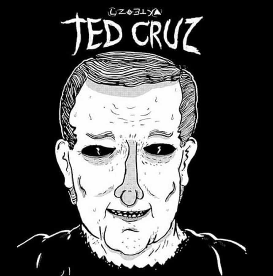 A meme presenting Ted Cruz as the Zodiac Killer.