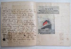 A short story written by Ernest Hemingway, aged 10