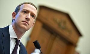 Mark Zuckerberg, CEO of Facebook, will testify on Wednesday.