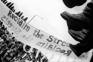 Reclaim The Streets Shepherds Bush 96 Banner (1998)