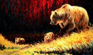 Three Bears Harry Koyama