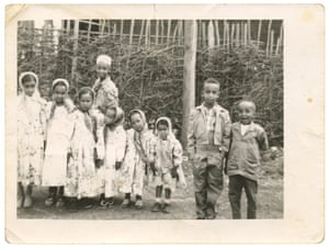 Children of the Kuas Meda-area during an Eid celebration in 1960.