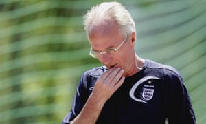 Sven-Göran Eriksson during the 2006 World Cup.