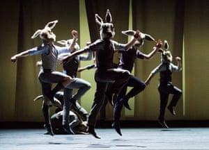 BalletBoyz perform Rabbit.