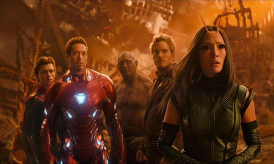 More of the same … Avengers: Infinity War.