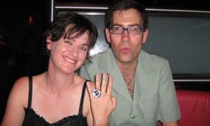 «Il y a beaucoup de blagues entre nous que les autres ne comprennent pas.» Jeska Rees et Simon Wilson en décembre 2007.