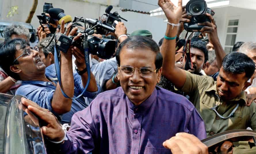 Sri Lanka's president Maithripala Sirisena: 'We need stringent laws to make a spiritual society.'