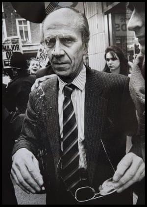 Norman Tebbitt egged in 1992