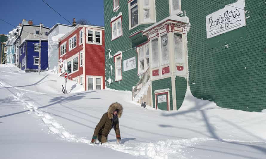 A state of emergency was declared in St John's on Friday