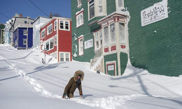 Image result for pictures of snowmageddon newfoundland""