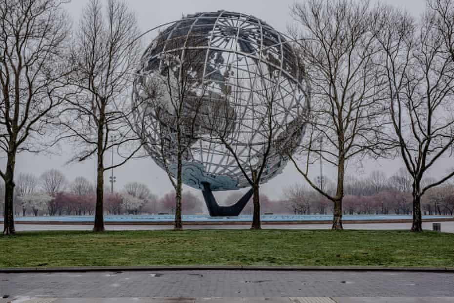 Flushing Meadows Park in Queens, New York on 29 March 2020. Photo By Jordan Gale