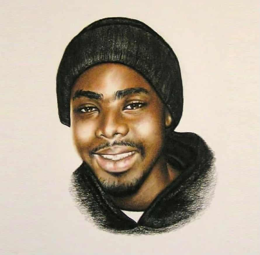 Oscar Grant III artwork by Leah Chappell