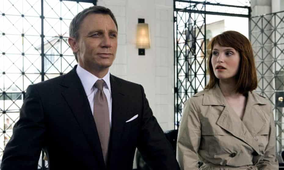 Daniel Craig and Gemma Arterton in Quantum of Solace (2008)