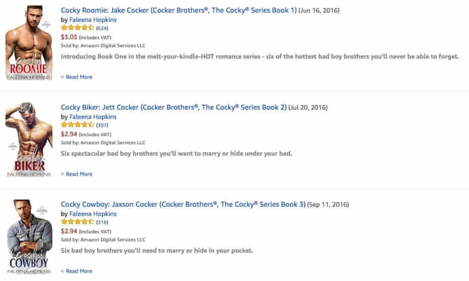 Cocky contention ... Faleena Hopkins's ebook series.