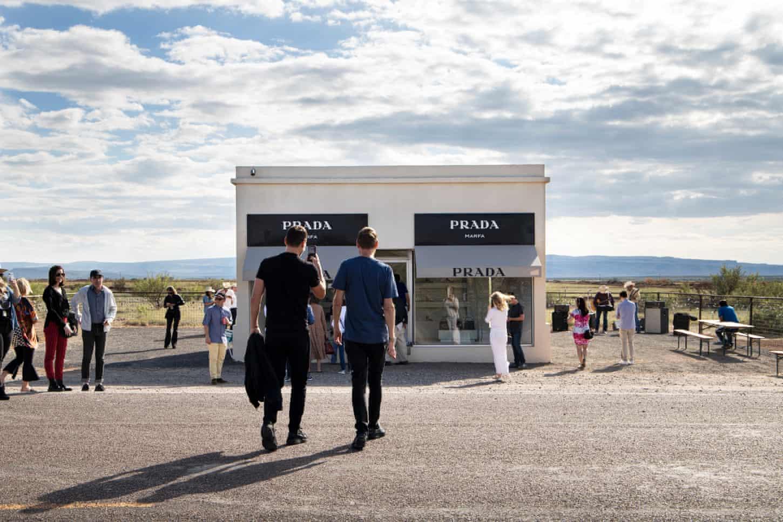 Prada in the desert: how a fake luxury boutique became a Texas landmark