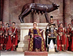 Christopher Plummer in The Fall of the Roman Empire, 1964