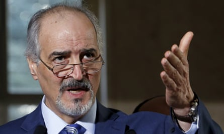 Syrian government's head of delegation, Bashar Ja'afari, said president Assad 'has nothing to do with the Syria-Syria talks'