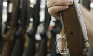 A Remington rifle