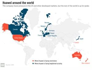 Huawei across the globe