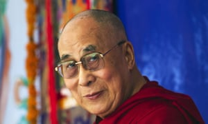 The Dalai Lama is urging the world's nations to take strong action to limit global warming.