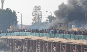 At least 24 people who were protesting by blocking a bridge in Nassiriya were killed by security forces on Thursday.